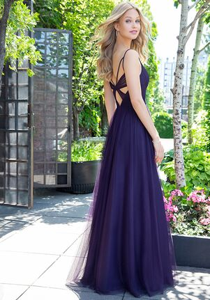 Hayley Paige Occasions 5859 V-Neck Bridesmaid Dress