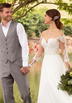Essense of Australia D2465 Sheath Wedding Dress