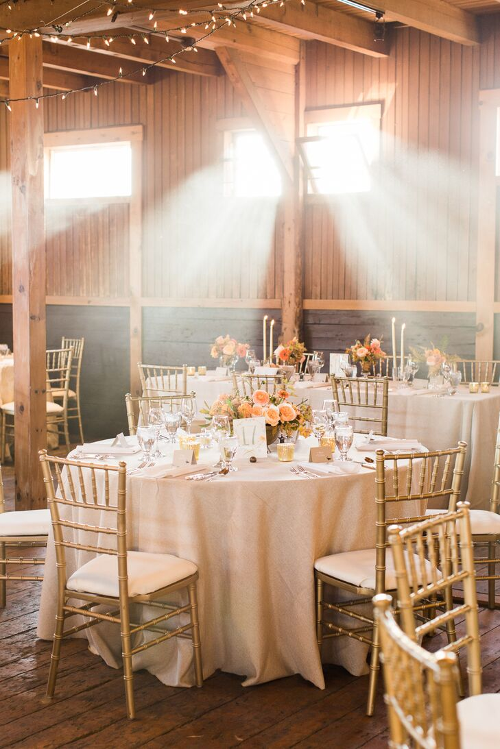 Elegant, Romantic Barn Reception