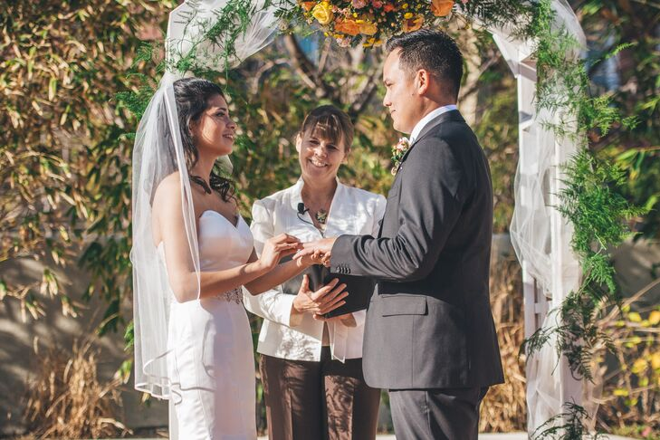 Jess and Steven, Wedding Ceremony