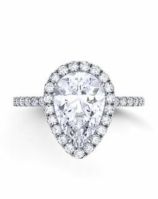 Danhov Pear Cut Engagement Ring