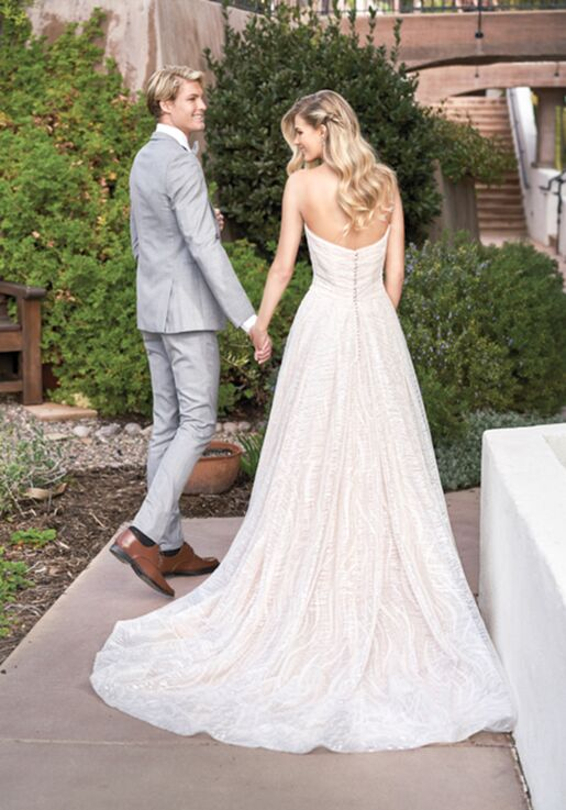 Jasmine Collection F211066 Ball Gown Wedding Dress