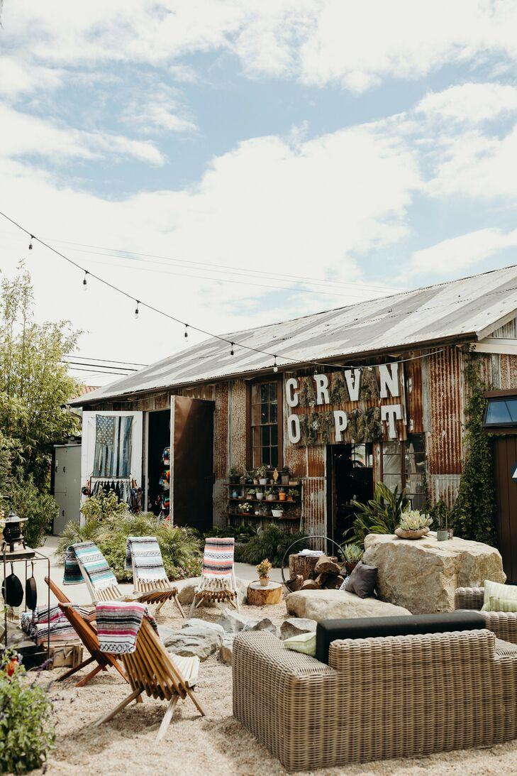 Lounge Area at Caravan Outpost in Ojai, California