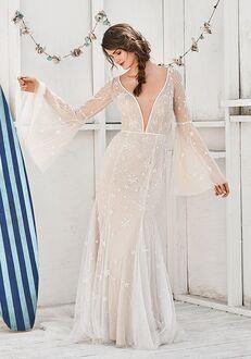 Lillian West 66057 Sheath Wedding Dress
