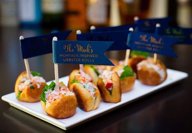 Wedding lobster rolls