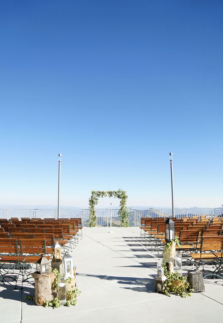 Simple Mountain Ceremony at Snowbird in Salt Lake City