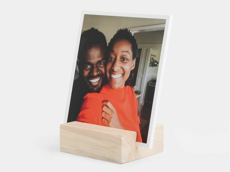 photo stand gift for newlyweds