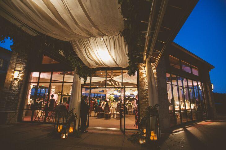 Rustic Elegant Reception at Omni Barton Creek Resort