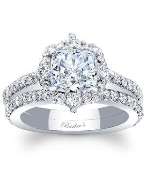 Barkev's Cushion Cut Engagement Ring