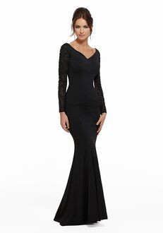 MGNY 72006 Black,Purple Mother Of The Bride Dress