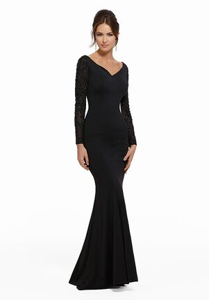 MGNY 72006 Black Mother Of The Bride Dress
