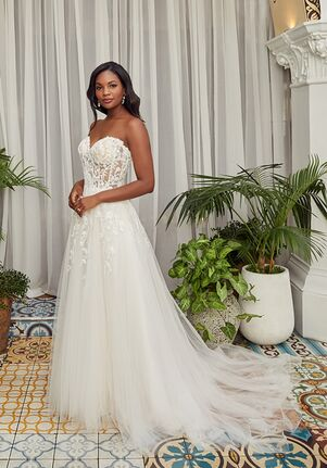 Beloved by Casablanca Bridal BL357 Jessy A-Line Wedding Dress