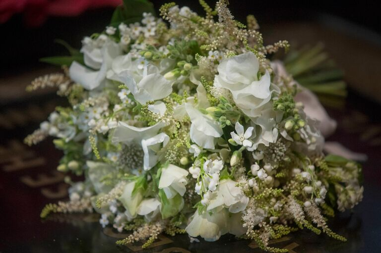 meghan markle bouquet