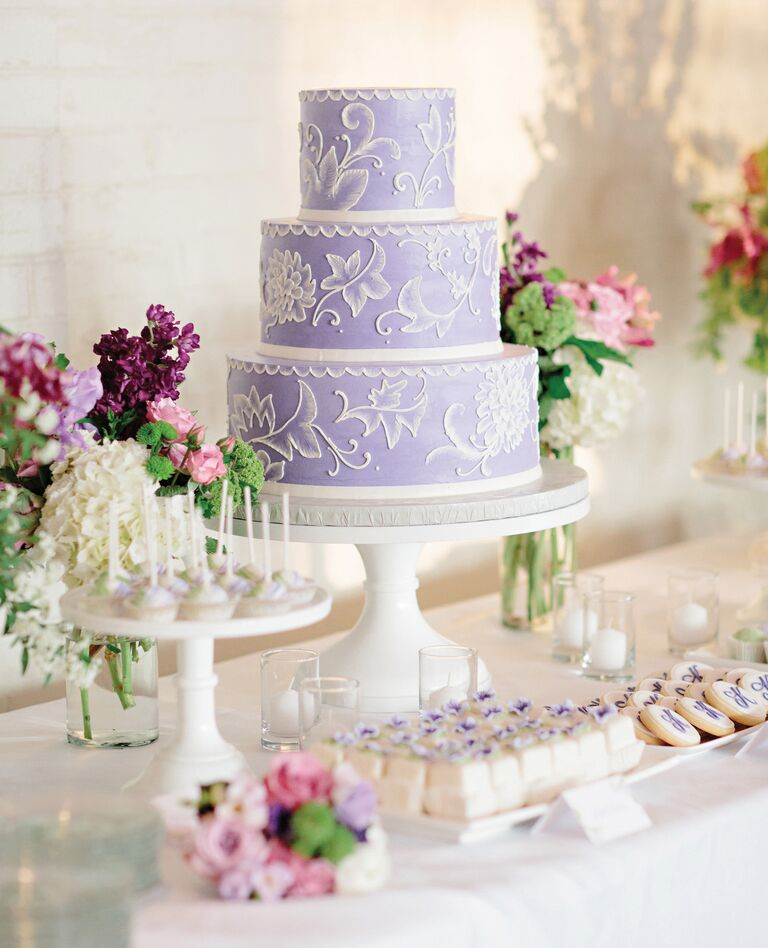 Fun Wedding Cake Ideas: Spring Themed Wedding Cake Ideas