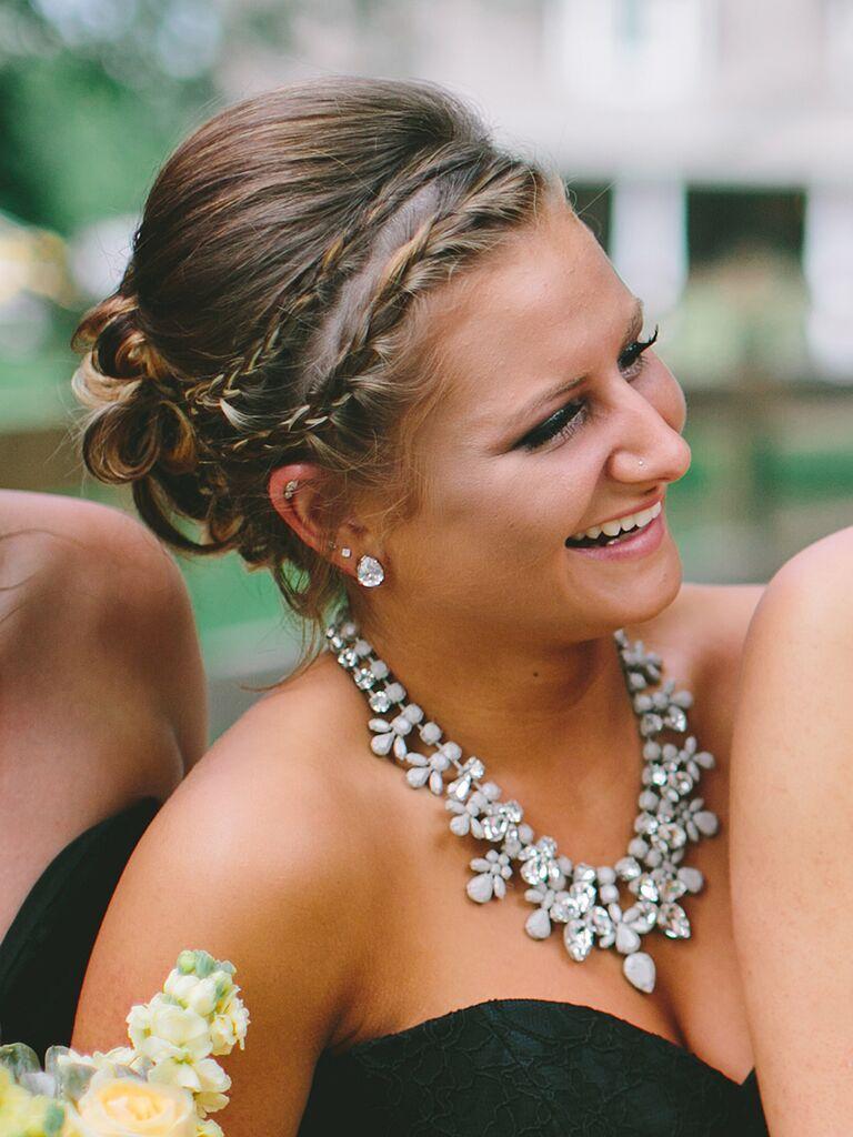 24 Romantic Updo Ideas For Bridesmaids