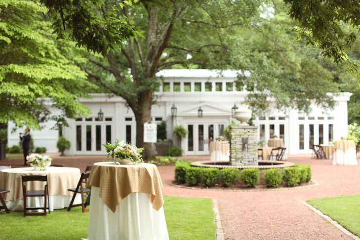 Elegant Outdoor Reception at The Oaks