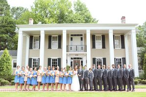 Elegant Wedding at The Oaks in Centreville, Alabama