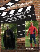 Wappingers Falls, NY Costumed Character | SuperHero to the Rescue