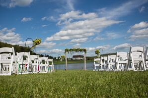 Waterside Ceremony at North Glade Inn