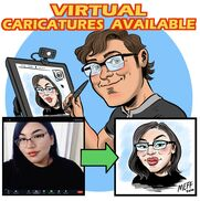 Seattle, WA Caricaturist | Carl's Caricatures