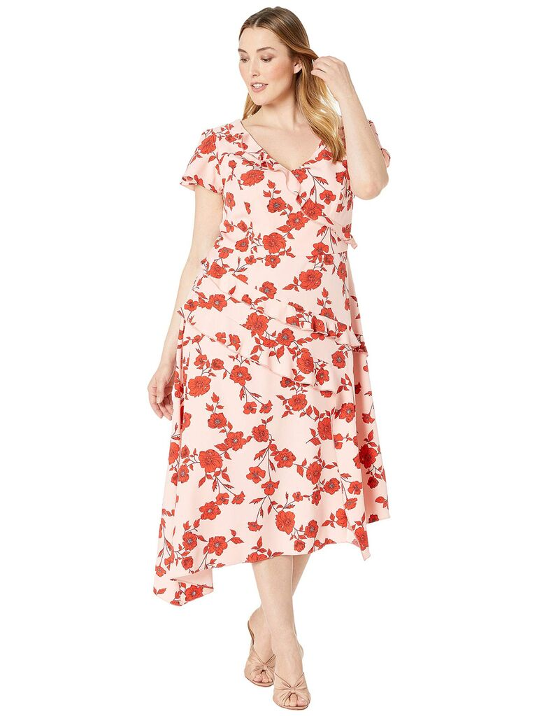 Floral dress for casual dress code