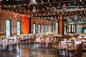 Chic Rustic Industrial Dye House Reception