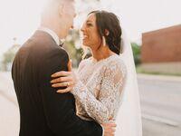 Indiana wedding couple