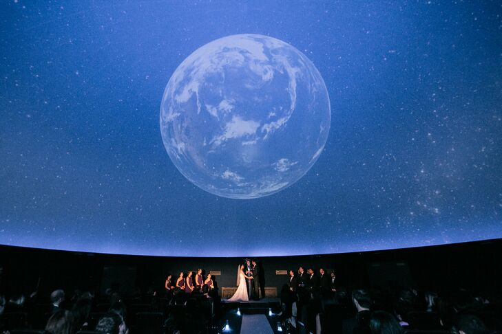 Unique Planetarium Ceremony