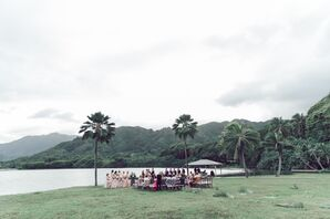Intimate Waterfront Ceremony