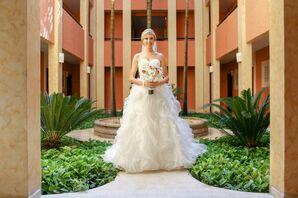 Mori Lee by Madeline Gardner Ruffled Wedding Dress