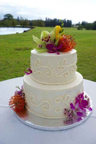 Vegan Wedding Cake Oahu