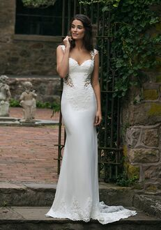 Sincerity Bridal 44051 Sheath Wedding Dress