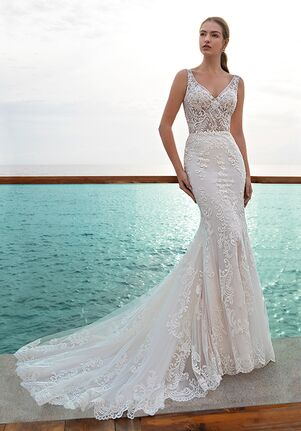 Demetrios 8005 Mermaid Wedding Dress