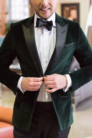 Emerald Green Groom's Blazer