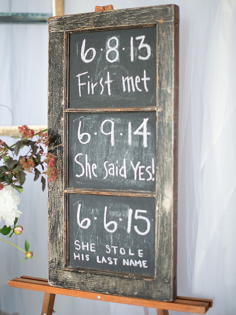 21 Pretty DIY Wedding Signs