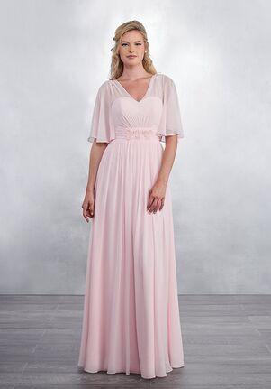 Amalia by Mary's Bridal MB7036 V-Neck Bridesmaid Dress
