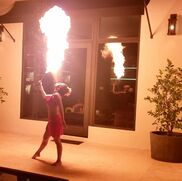 Miami, FL Fire Dancer | Islamorada Barefoot Dance Studio