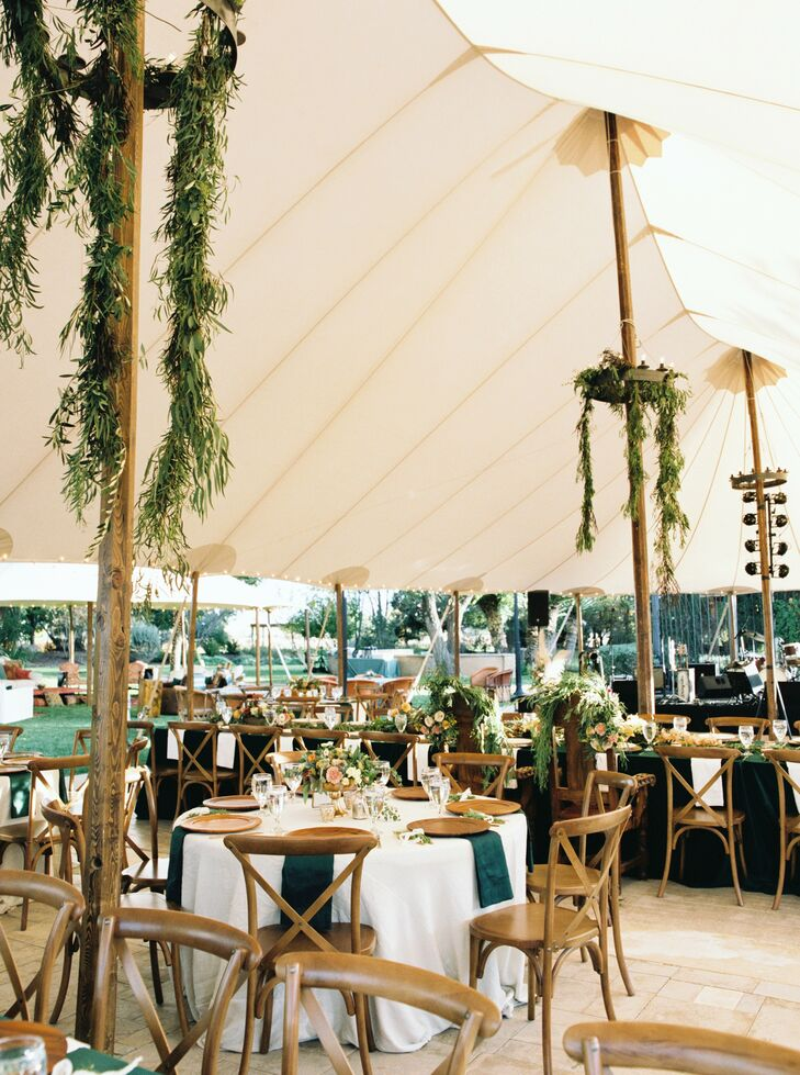 Tented Wedding Reception in Marathon, Texas