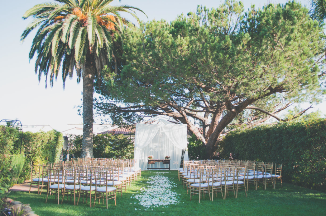 Wedding reception venues in santa barbara ca the knot riviera mansion junglespirit Image collections