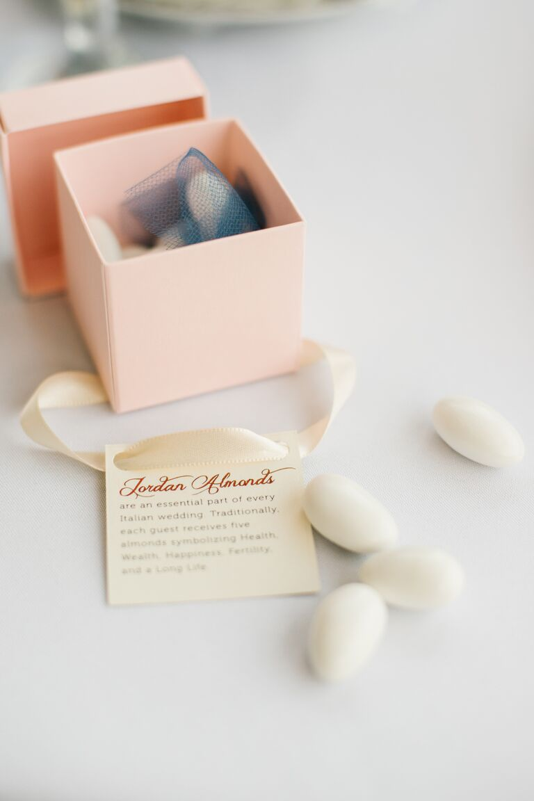Jordan almonds for wedding favors