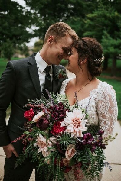 Visions of Silk Wedding Floral