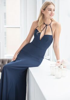Hayley Paige Occasions 5911 V-Neck Bridesmaid Dress