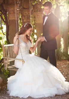 Essense of Australia D2259 A-Line Wedding Dress