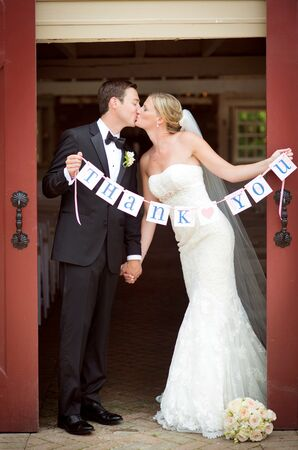 'Thank You' Wedding Sign
