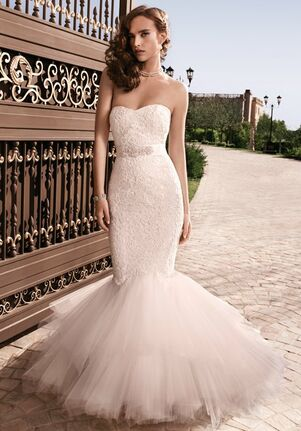Casablanca Bridal 2129 Mermaid Wedding Dress