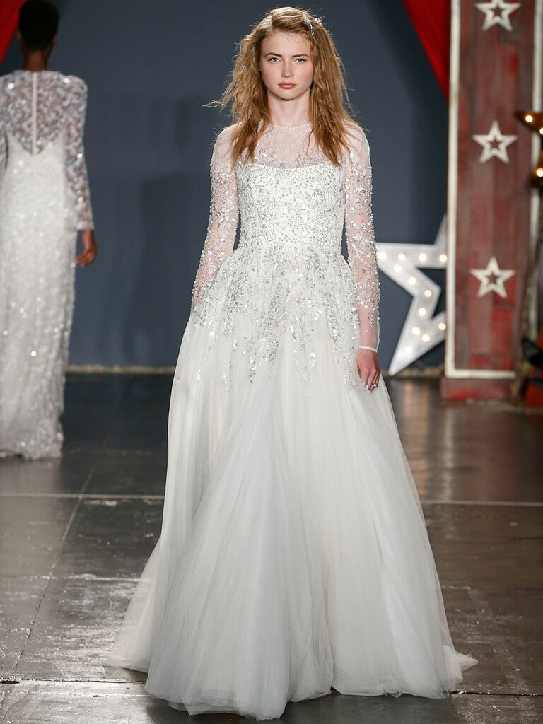 0a91d4b8b281 Jenny Packham Spring 2018 Collection: Bridal Fashion Week Photos