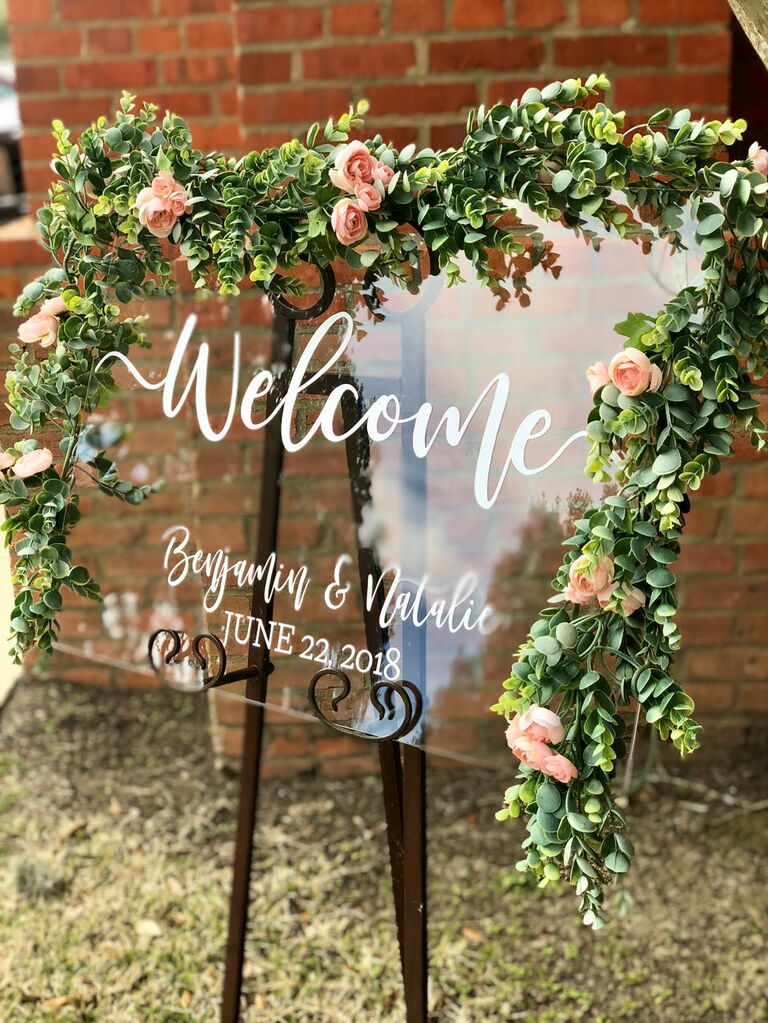 Wedding Welcome Sign.26 Wedding Welcome Signs Perfect For Greeting Guests