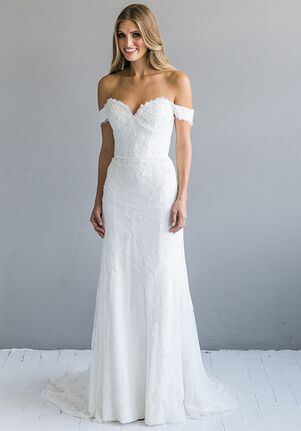 Strapless Sheath Wedding Dresses