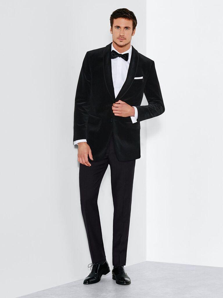 The Black Tux Velvet Jacket Tuxedo