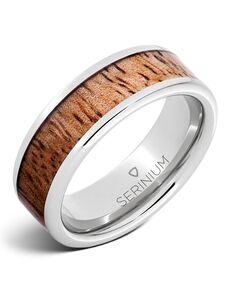 Serinium® Collection Tropical Sunset — Mango Wood Inlay Serinium ®Ring-RMSA002778 Serinium® Wedding Ring